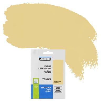 Tester farby DO ŚCIAN I SUFITÓW 25 ml Mirabelkowe wzgórze LUXENS