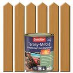 Olej zewnętrzny TARASY-MEBLE szybkoschnący 0.75 l Naturalny SYNTILOR