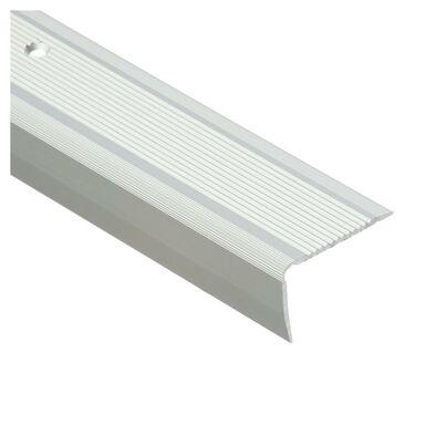Profil schodowy ryflowany 200 cm srebrny Easy Line