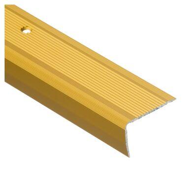 Profil schodowy ryflowany 100 cm złoty EASY LINE