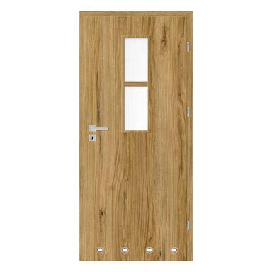 Skrzydło drzwiowe z tulejami wentylacyjnymi Mila Dąb catania 80 Prawe Nawadoor