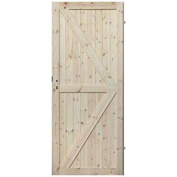 Skrzydło drzwiowe drewniane pełne Loft II 80 Prawe Radex