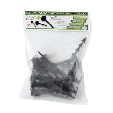 Kołki do agrowłókniny 20 szt. plastikowe GARDEN PLAST
