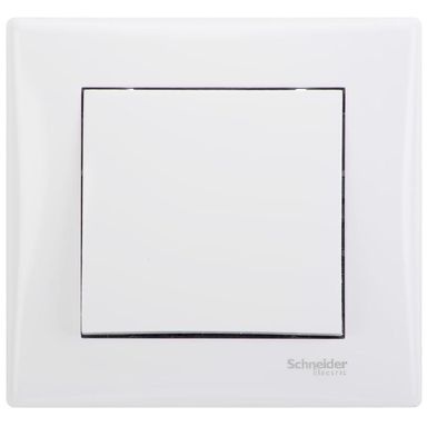 Przycisk dzwonek / światło SEDNA  biały  SCHNEIDER