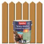Olej zewnętrzny TARASY-MEBLE szybkoschnący 5 l Naturalny SYNTILOR