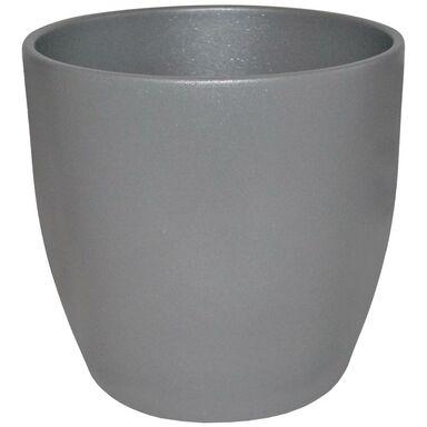 Doniczka ceramiczna 22 cm szara EMI CERAMIK