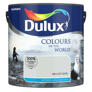 Farba wewnętrzna KOLORY ŚWIATA 2.5 l Okruch lodu DULUX