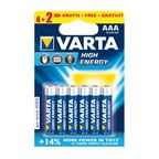 Bateria LR03 / AAA HIGH ENERGY VARTA