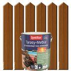 Olej zewnętrzny TARASY-MEBLE szybkoschnący 5 l Tek SYNTILOR