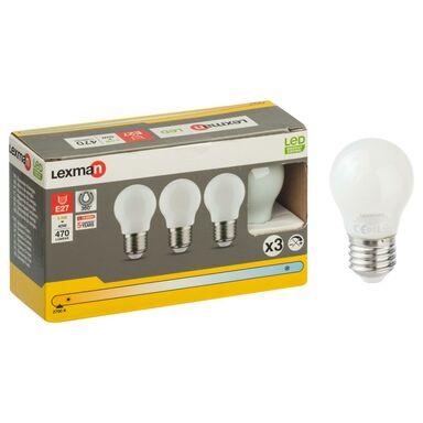 Zestaw żarówek LED E27 (230 V) 4,5 W 470 lm Ciepła biel LEXMAN