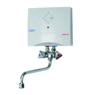 Elektryczny przepływowy ogrzewacz wody OSKAR 5,5 BIAWAR