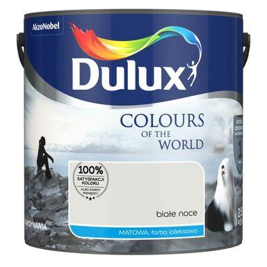 Farba wewnętrzna KOLORY ŚWIATA 2.5 l Białe noce DULUX