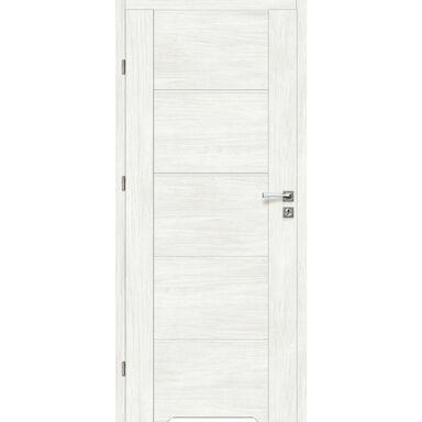 Skrzydło drzwiowe z podcięciem wentylacyjnym MALIBU Bianco 90 Lewe ARTENS