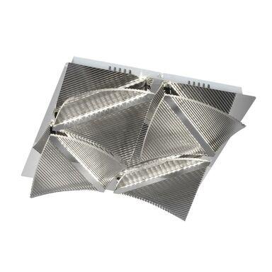 Plafon CLEMENTE 38 cm  srebrny LED ITALUX