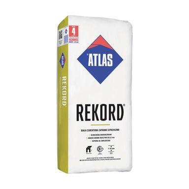 Zaprawa szpachlowa biała cementowa Rekord 25 kg Atlas