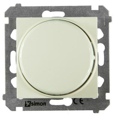 Ściemniacz przyciskowo-obrotowy SIMON 54  Kremowy  KONTAKT SIMON