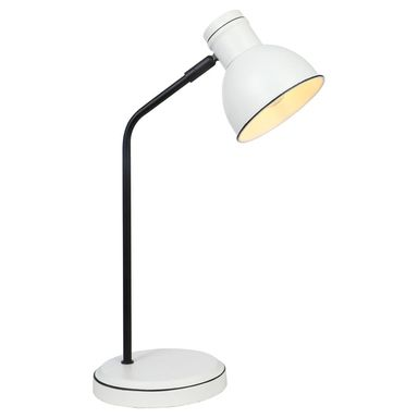 Lampka biurkowa ZUMBA biała E14 CANDELLUX