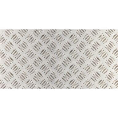 Blacha tłoczona 250 x 500 x 1,5 mm aluminiowa połysk GAH ALBERTS