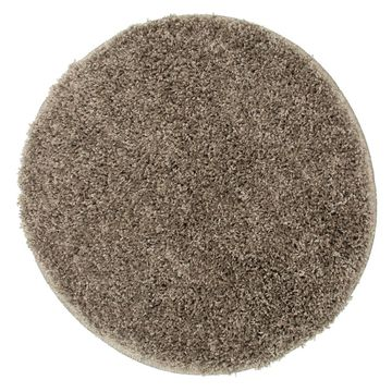 Dywan shaggy EVO kawowy okrągły śr. 60 cm