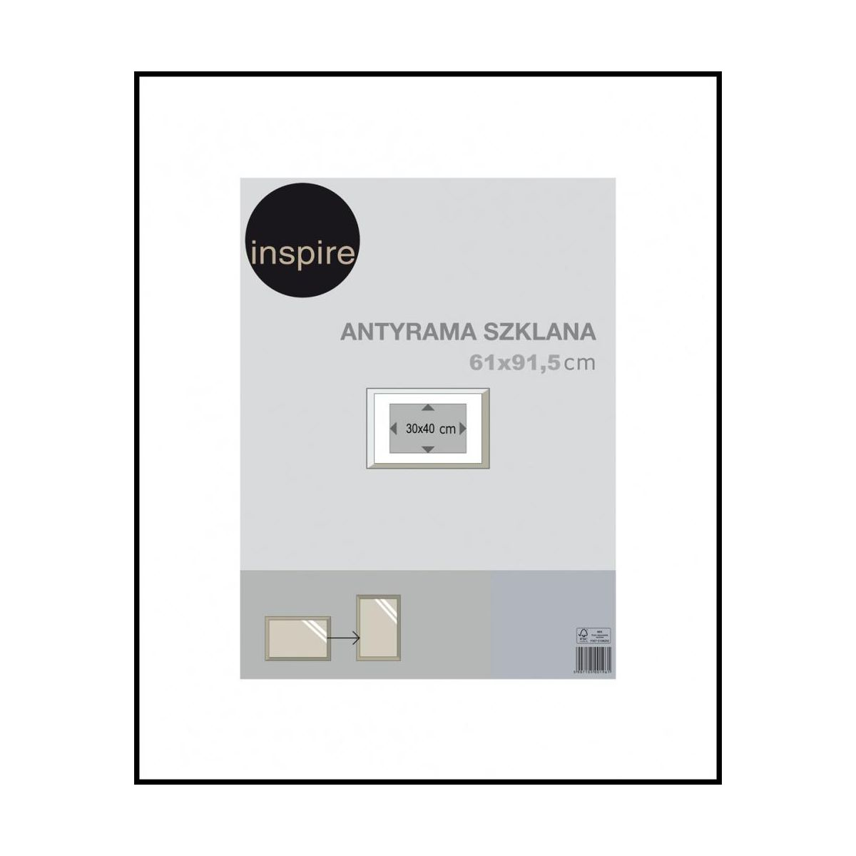 antyrama 61 91 5 inspire antyramy w atrakcyjnej cenie. Black Bedroom Furniture Sets. Home Design Ideas