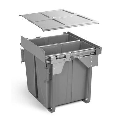 Kosz na śmieci wysuwany PB-0M2X34-60MB 2 x 34 l GTV