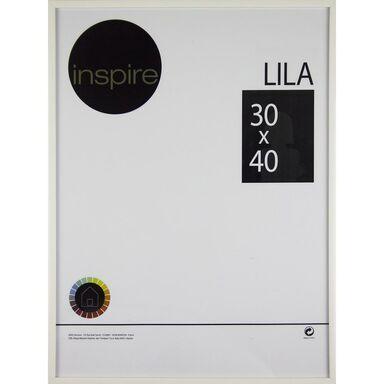 Ramka na zdjęcia Lila 30 x 40 cm biała Inspire