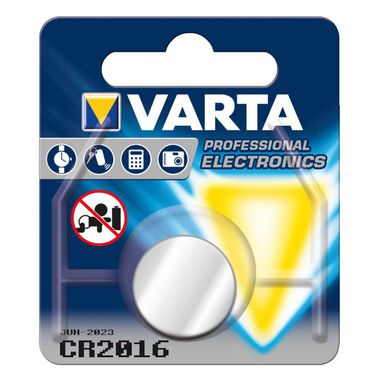 Baterie CR 2016 PROFESSIONAL ELECRTONICS VARTA