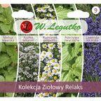 Zestaw ziołowy relaks kolekcja nasion tradycyjnych W. LEGUTKO