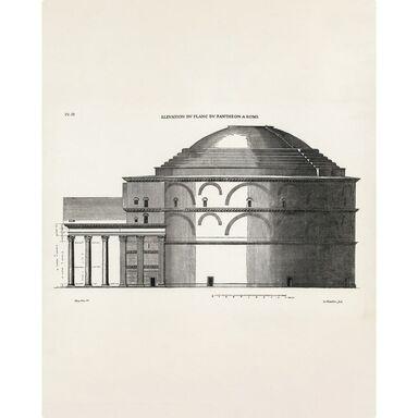 Plakat Panteon Szkic 40 x 50 cm
