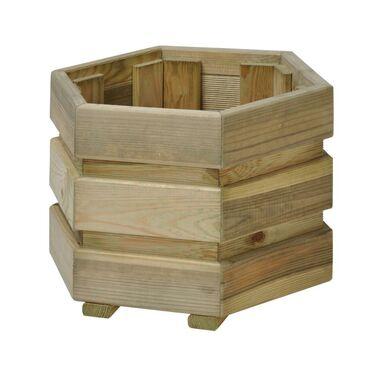 Donica ogrodowa 40 x 28 cm drewniana FIX SOBEX