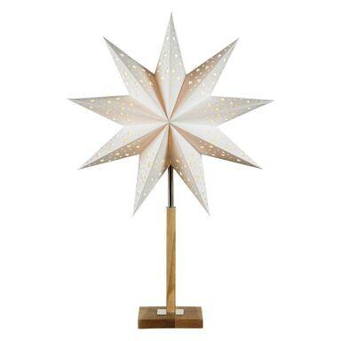 Gwiazda podświetlana 65 cm 1 szt. biała