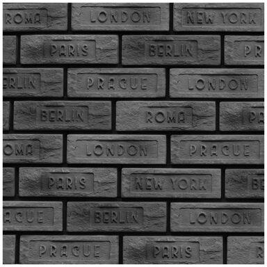 Kamień dekoracyjny gipsowy Turmalin Grafit miasta 7.3x22.8 cm 0.2 m2 Max-Stone
