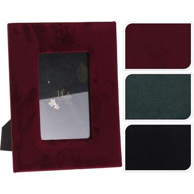 Ramka welurowa na zdjęcia Velwet 10 x 15 cm mix kolorów
