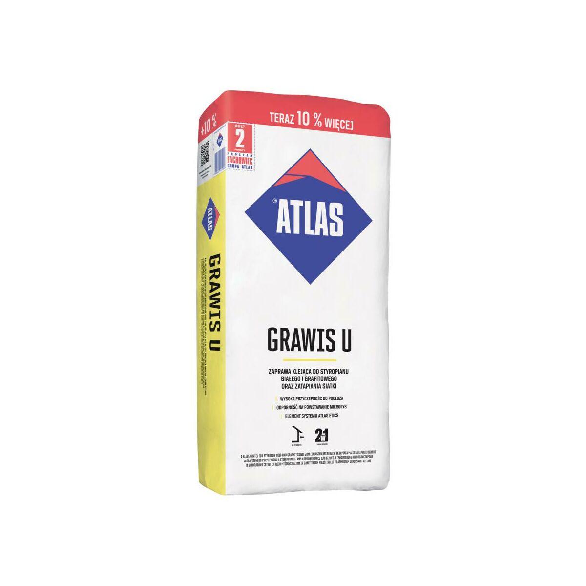 Zaprawa klejowa GRAWIS U 25 + 2,5 kg ATLAS
