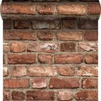 Tapeta Vintage Brick 3D czerwona imitacja cegły winylowa na flizelinie