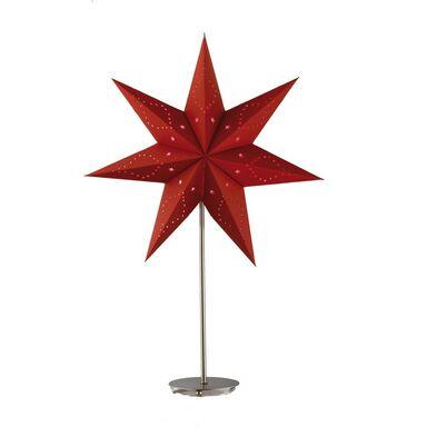 Gwiazda podświetlana 45 cm 1 szt. czerwona