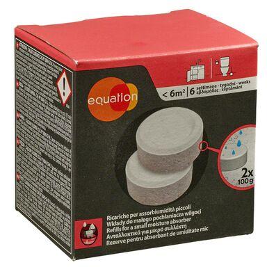 Wkład do pochłaniacza wilgoci 2 x 100 g neutralny EQUATION
