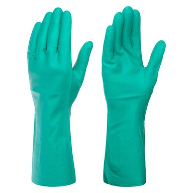 Rękawice ochronne nitrylowe r. 8 DEXTER