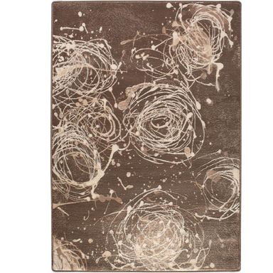 Dywan KIANTA W brązowy 160 x 240 cm wys. runa 9 mm AGNELLA