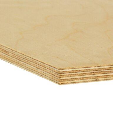 Sklejka drewniana wodoodporna 18 mm 80 x 40 cm BIURO STYL