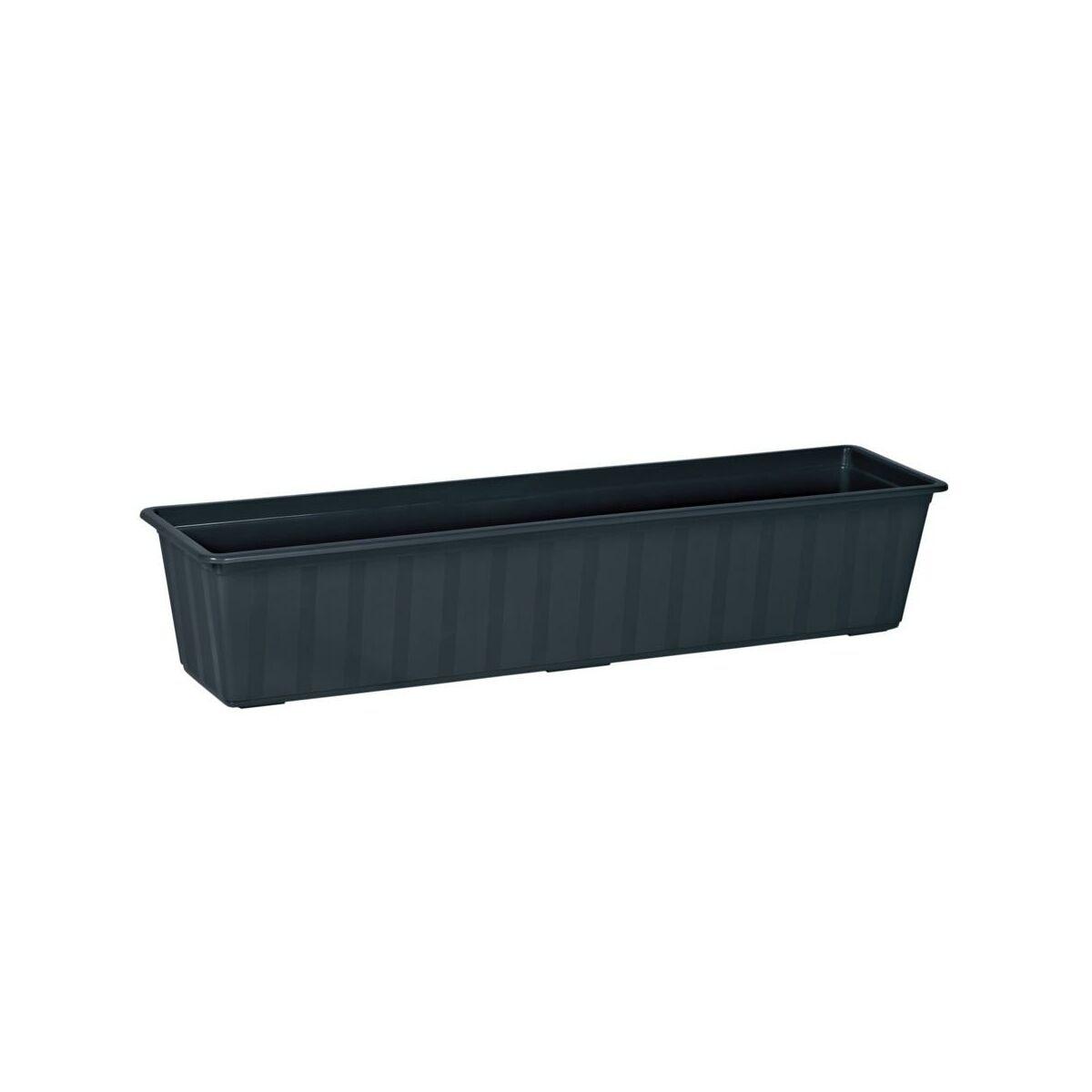 Skrzynka Balkonowa 80 X 18 Cm Plastikowa Antracytowa Agro Is800 S433 Prosperplast