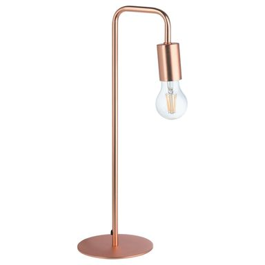 Lampa stołowa LANA miedź E27 INSPIRE