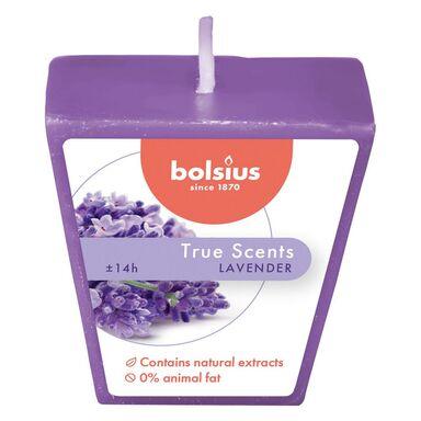 Świeca zapachowa True Scents lawenda Bolsius