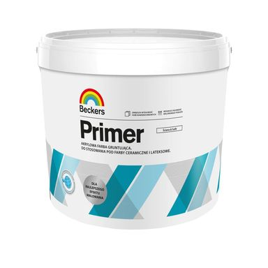 Farba gruntująca DESIGNER PRIMER 10 l BECKERS