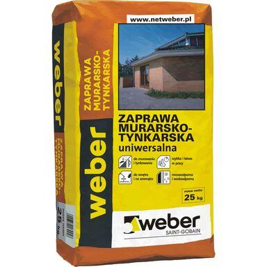 Zaprawa murarsko-tynkarska uniwersalna 25 kg WEBER