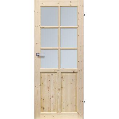 Skrzydło drzwiowe pokojowe drewniane LONDYN LUX 70 Prawe RADEX