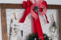 Świąteczny warsztat DIY - wieszak na kartki świąteczne