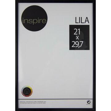 Ramka na zdjęcia LILA 21 x 29.7 cm czarna INSPIRE