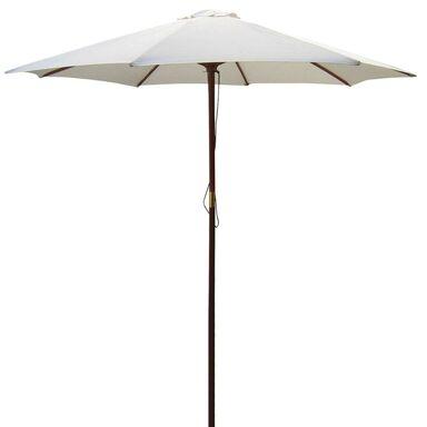Parasol ogrodowy BAWARIA śr. 350 cm biały
