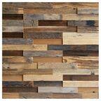 Panel ścienny drewniany Old twig  0.42m2 Max-Stone
